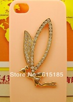 Free shipping!Min.order is $15 (mix order) Fairy diy alloy phone for DIY phone decoration 6pcs DY466