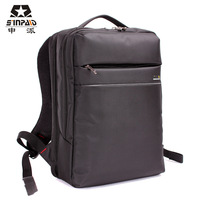 2013 Fashion women commercial 14 backpack laptop bag rucksack casual student school bag male computer case Free Shipping!