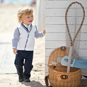 Big Deal~2013 Autumn Preppy Style Baby Boy Long-sleeve Suit Children's Clothing Set Vest +Plaid Shirt+Jeans 3 Pcs Set Costume