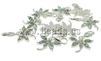Free shipping!!!Zinc Alloy Lobster Clasp Charm,Designer Jewelry 2013, Butterfly, nickel, lead & cadmium free, 20x32x3mm