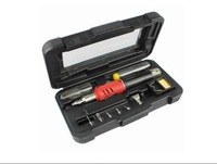 10 in 1 Self-Ignition Gas Soldering Iron Cordless Welding Torch Kit Tool HS-1115K