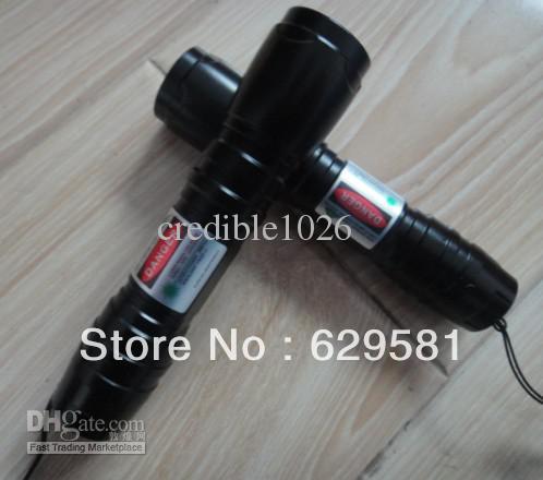 New 1000mw 1w Green laser flashlight Green Laser Pointers black shell / 5000 meters long-range / Adj(China (Mainland))