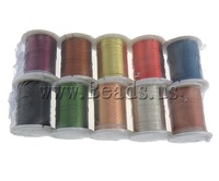 Free shipping!!!Copper Wire,Personality, mixed colors, 0.30mm, Length:100 m, 10PCs/Lot, Sold By Lot