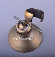 antique brass shower head hook shower head bracket ,free shipping,promotion