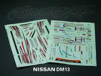 Stm-racing D-MAX Diversion ADVAN ONE-VIA DECAL SHEET  PC201203B-1  1:10 eletronic touring car