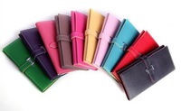 DHL Free shipping Hot Retail 2012 new arrival fashion desiner lady leather purses and wallets 11 candy colors 150pcs/lot