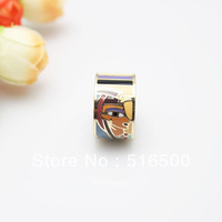 Free Shipping! Pharaoh Head Rose Gold Plated Enamel Jewelry Ring, 1 pc/pack