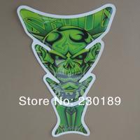 Motorcycle Tank Pad Sticker Skull Protector Decal Tankpads For Kawasaki Ninja Free Shipping