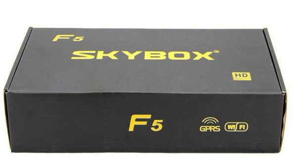 DHL free shipping 2013 Newest original skybox F5 1080p full hd PVR GPRS fast delivery(China (Mainland))
