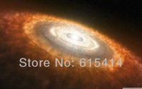 "13 View scape star birth universe 38""x24"" Inch Wallpapr Sticker Poster"