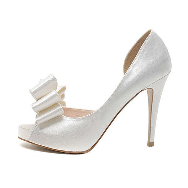 get cheap bridal white wedding shoes aliexpress