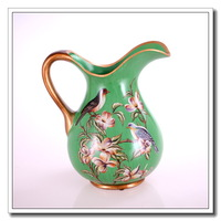 EMS free shipping hand-painted vase Rustic vase vantage vase bottle beautiful ceramic vase aristocratic gifts