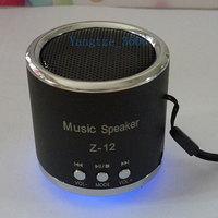 Z-12 high quality Portable Music Player Mini Speaker USB TF Card Slot Stereo FM