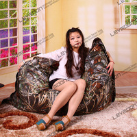 FREE SHIPPING outdoor bean bag covers water proof bean bag online 140*180cm camouflage bean bags adult bean bag chair covers