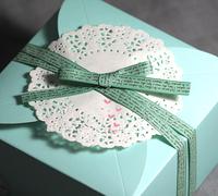 green letters design grosgrain ribbon party favor supplies