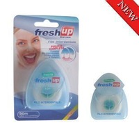 promotion 50M Dental floss oral care kit dental hygiene 5pcs/lot free shipping