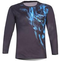 Free Shipping 2013 Men's Cat 3D Creative T-Shirt # 1141,Punk Three D Long Sleeve Tee Shirt S-6XL,Plus Size