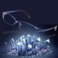 Top Quality Optical Frame Myopia glasses 100% Pure Titanium Toughness Rim glasses Titanium frame Men Wholesale in stock (SU-215)