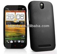 10pcs Free shipping rubber matte plastic hard cover case For HTC Desire SV T326E