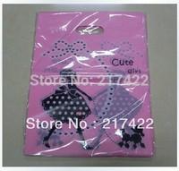 W25xL35cm  New Cute Girl Fashion Plastic Bag Shopping Bag Handle Bag
