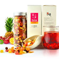 Flower fruit tea fruit flavor fruit tea 150g tank honey