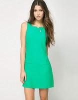 Women's Women fashion chiffon casual all-match one-piece dress skirt sleeveless fashion