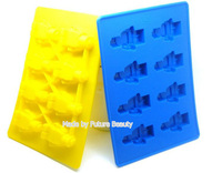 Silicone Ice Cube Tray Mold Maker Ice Cream Mould food cake chocolate Mould Legos bar party frozen  ice mold Free shipping