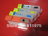 wholesale For HP 920 920XL for HP officejet 6000 6000A 6500 6500A 7000 7000A 7500 7500A refillable ink cartridge with chips 4pcs