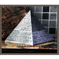 Classic vintage pyramid sculpture pyramid ashtray decoration