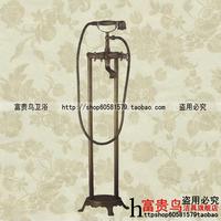 Fashion antique rustic cold and hot water faucet floor bathtub faucet shower faucet