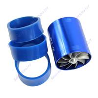 D19+F1-Z Double Supercharger Universal Turbine Turb Air Intake Fuel Gas Saver Fan BL/BK