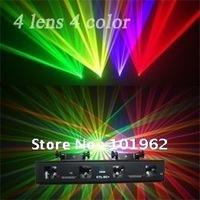 360mw 4 lens RGVY Laser Light High quality Laser Light Projector stage laser show system