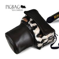 Pig Camera Bag DSLR SLR Camera Bag Cover Case for Canon EOS 600D 7D 60D 550D