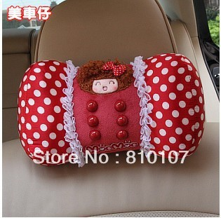 Wholesale 8 sets Memory Foam Massage Neck Pillow Car Accessories  Interior Decorative Jushi Car accessories MocMoc