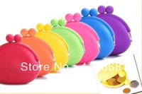 400pcs/lot, Silicone Wallet, wholesale silicone purses trumpet silicone zero wallet coin wallet