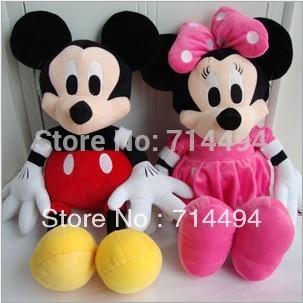 35cm 1peice plush toys wholesale mickey Minnie stuffed animals doll lovers wedding doll doll valentine's gift