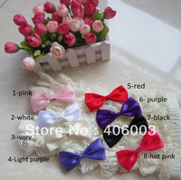 2013 Children's Fashion  Kids Hair Accessories Ribbion Fabric Hair Bows With Clip Free Shipping