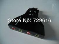 External USB 2.0 3D Sound Card Adapter 7.1 CH Audio for Desktop & Laptop & Notebook