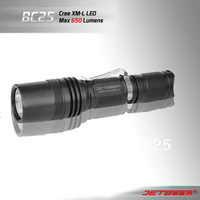Mail Free +1PC+ JETBeam BC25 Cree XM-L T6 18650 LED Waterproof 650 Lumen Torch