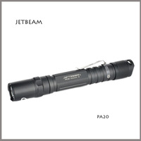 Mail Free+1PC+JETBeam PA20 XP-G R5 LED 230 Lumen Torch Standard Camping Hiking Flashlight by AA battery