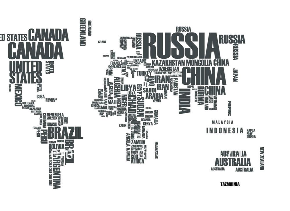 Large World Map Art Shipping Large World Map