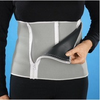 Slimming Belt Men Womens Body Waist Shaper Girdle Adjustable Tummy Tuck Fat Slim ID:2013032902