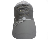 Free shipping Cap fishing cap baseball cap sunbonnet gray mesh cap