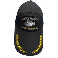 Free shipping Sun hat black fishing cap casual cap sunbonnet casual
