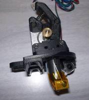 K extruder for 3D Printer RepRap Mendel, work with a supply of 3mm diameter