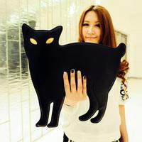 Free shipping! Fashion cute Cat handbags & clutch bag PU leather designer women stylish shoulder bags factory price wholesale