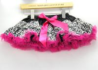 New arrival,fashion Leopard+Zebra+10 pcs+5 sizes,girls pop tutu skirts,childrens/babys clothing/wear,kids pettiskirt