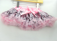 Top Fashion,sexy snake skin+good workmanship+10 pcs+5 sizes baby girls pettiskirt/tutu skirt,lolely kids/childrens clothes