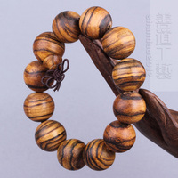 New arrival flower qi nan beads agarwood bracelets male bracelet