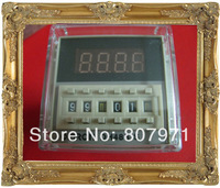 220v    230V  240V  Digital time delay repeat cycle relay timer 1s-990h LED display 8 pin panel installed